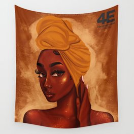 U R my african queen Wall Tapestry
