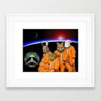 starfox Framed Art Prints featuring STARFOX - The Lylat Space Program by John Medbury (LAZY J Studios)