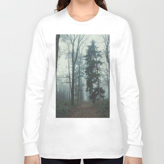 Misty Woods II #adventure #photography Long Sleeve T-shirt