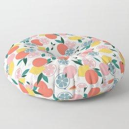 Citrus crush Floor Pillow