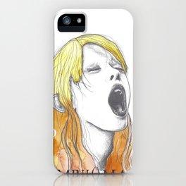 Nymphomaniac P iPhone Case