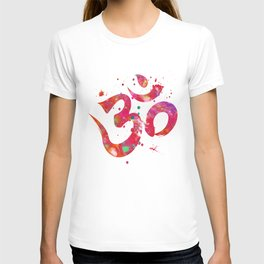 Colorful Om Symbol T-shirt