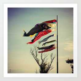 Fish Flags Art Print
