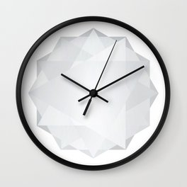 Poly Constellation (White) Wall Clock