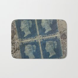 Postcard from the past Bath Mat