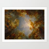 baroque Art Prints featuring Baroque by Tori Beretta
