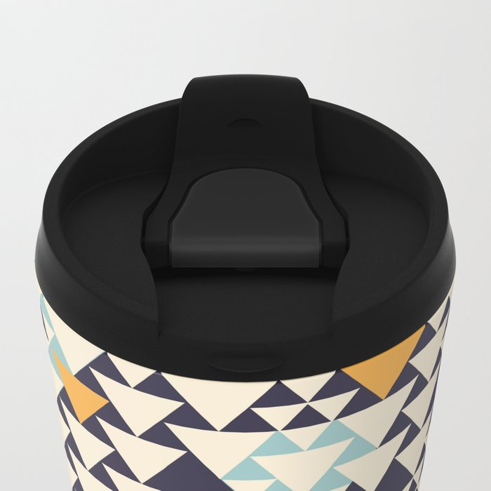 Pattern # 2 Metal Travel Mug