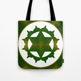 Ultimate Tranquility Abstract Chakra Art  Tote Bag