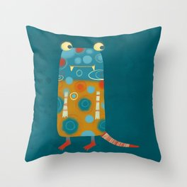 Monster Esme Throw Pillow