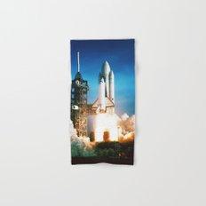 Space Shuttle Launch Hand & Bath Towel