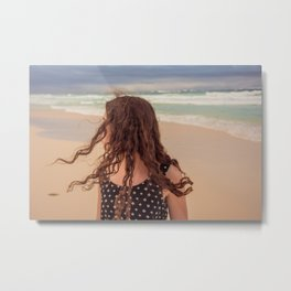 Hair Air Metal Print
