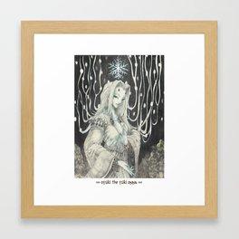 009_oyuki the yuki onna Framed Art Print