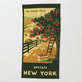 Upstate NY Towel Beach Towel