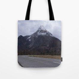 Road Towards Mangart Mountain Tote Bag