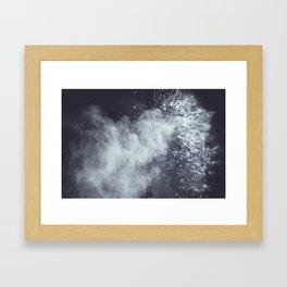 Clouds I Framed Art Print