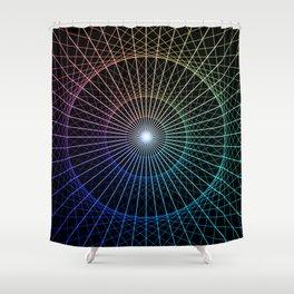 Mind's Eye Shower Curtain