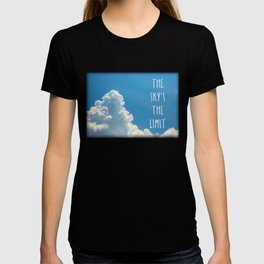 Sky's the limit - cloudscape T-shirt
