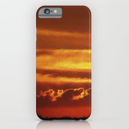 Sunset Layers   Ferntree Gully iPhone Case