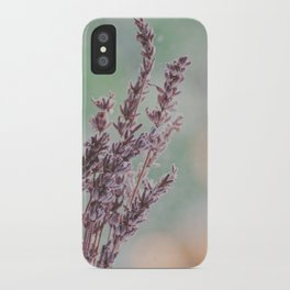 Lavender by the window iPhone Case