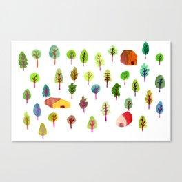 Spring Woods Canvas Print