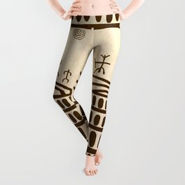 Ethnic 3 Canary Islands Leggings