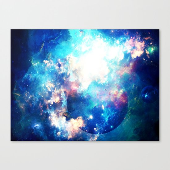Space Eater Canvas Print