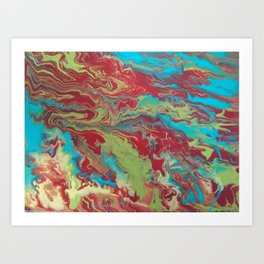 Psychedelic Collection Art Print