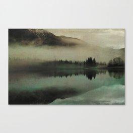 November lake Canvas Print