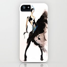 Dripping With Ink iPhone Case