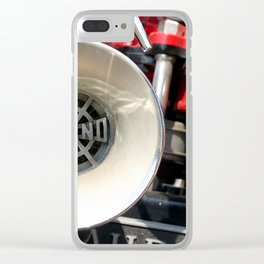 Old Fire Truck Clear iPhone Case