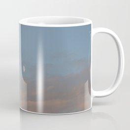 Moon on a Cotton Candy Sky Coffee Mug