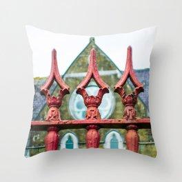 Mystic Iron Throw Pillow