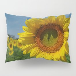 Sunflower soloist (with backup chorus!) Pillow Sham