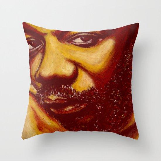 unique issac Throw Pillow
