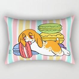 Maurice & Macarons Rectangular Pillow