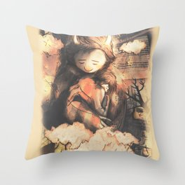 There is still some time - [Don't Go] Throw Pillow