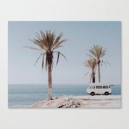 summer road trip Canvas Print