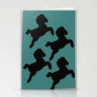 pony Stationery Cards featuring pony by gasponce