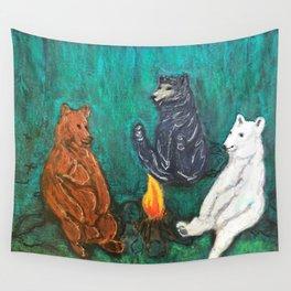 The Three Bears Wall Tapestry
