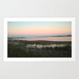 Saint Augustine Sunset Art Print
