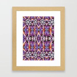 Pattern1 Framed Art Print