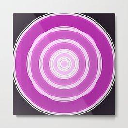 shining purple Metal Print