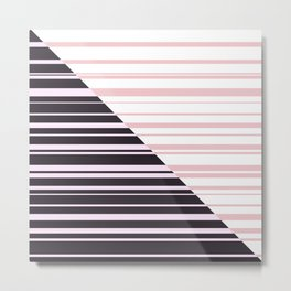 Colorful stripe Metal Print