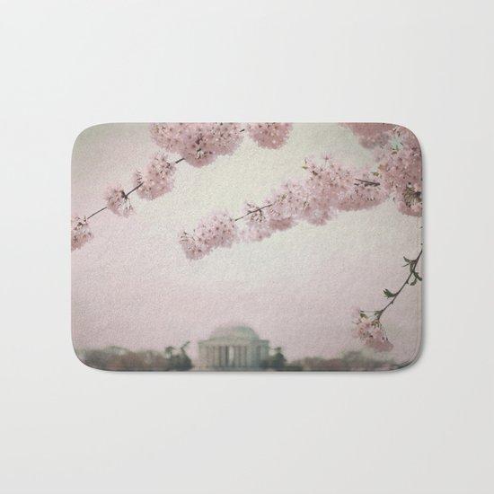 Washington DC Cherry Blossoms Bath Mat