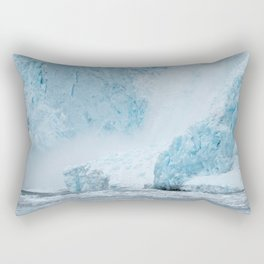 Icy Thunder Rectangular Pillow