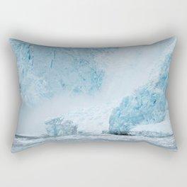 Icy Thunder Rectangular Pillow