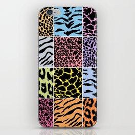 Animal Patterns iPhone Skin