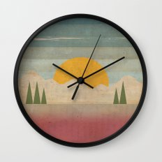 Day in the Forest Wall Clock