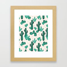 Cactus by Andrea Lauren Framed Art Print