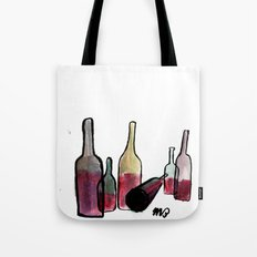 Wine Bottles 3 Tote Bag